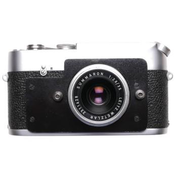 Leica MDa 24x36 Post 35mm camera Summaron 2.8/35mm Alos flash