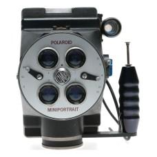 Cambo Model 40 Polaroid Miniportrait Passport Foto Instant Camera