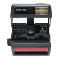 Polaroid 636 Instant Film Talking Camera in Original Box Instructions