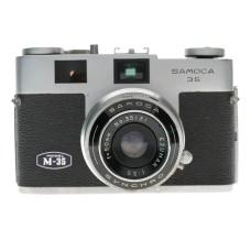 Samoca 35 M-35 Rangefinder Film Camera Ezumar 1:3.5 f=50mm