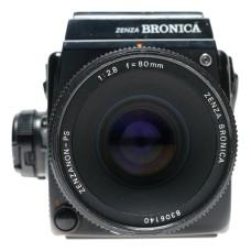 Zenza Bronica SQ-Ai 6x6 Film SLR Camera Zenzanon-PS 1:2.8 f=80mm