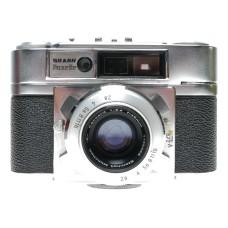 Braun Super Paxette IIL 35mm Film RF Camera Steinheil Cassarit 1:2.8 f=45mm