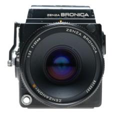 Zenza Bronica SQ-A 6x6 SLR Film Camera Zenzanon-S 1:2.8 f=80mm