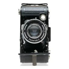 Wirgin Auta 1949 6x9 Folding 120 Film Camera Radionar 4.5/105