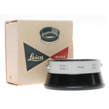 Leica ROODA mint lens hood shade boxed for Summaron 2/50 Leitz