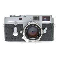 Leitz Summilux 1:1.4/35 mm Steel Rim Rare lens M2 camera cased set