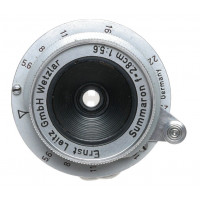 Original Leitz Summaron 5.6/28mm f=2.8 f5.6 pancake Leica lens