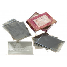 Imperial Glass Dry Plates Processed Negatives Large Format Vintage Photography