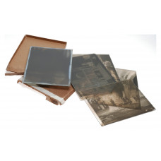 Illingworth's Large Format Photographic Glass Plates Processed Negatives