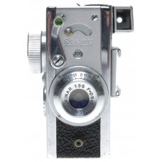 Steky Mod.IIIb Sub-Miniature 16mm Film Camera Riken Stekinar 1:3.5 f=2.5cm
