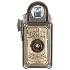 Coronet Midget 16mm Film Miniature Bakelite Box Camera